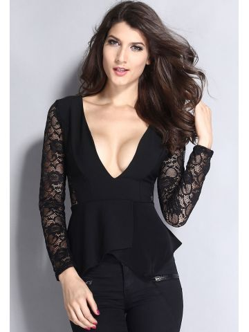 https://static6.cilory.com/101948-thickbox_default/black-jersey-lace-long-sleeve-peplum-top.jpg