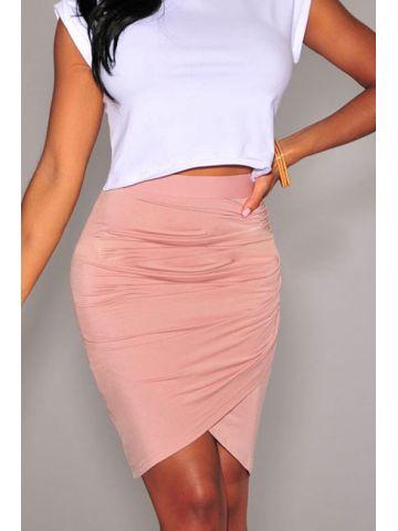 https://static2.cilory.com/102055-thickbox_default/pink-draped-knee-length-skirt.jpg