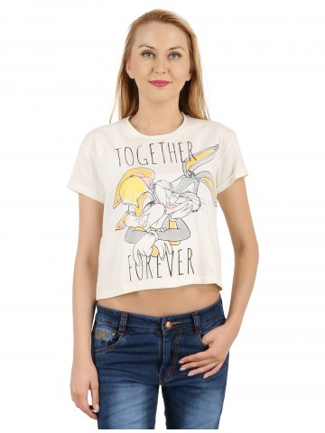 Looney Toones Short Half Sleeves Top at cilory