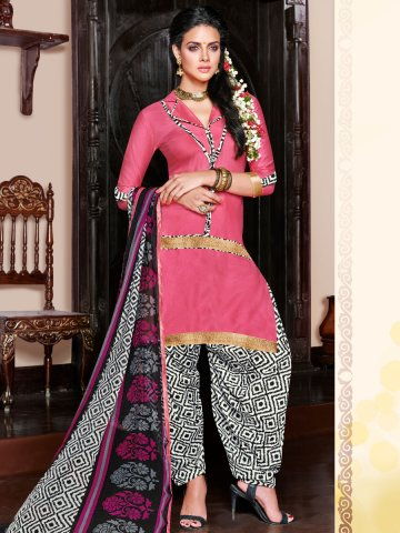 https://static.cilory.com/129512-thickbox_default/unstiched-slit-pink-black-white-designer-cotton-print-patiala-suits.jpg
