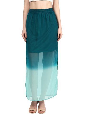 Harpa Green Skirts at cilory