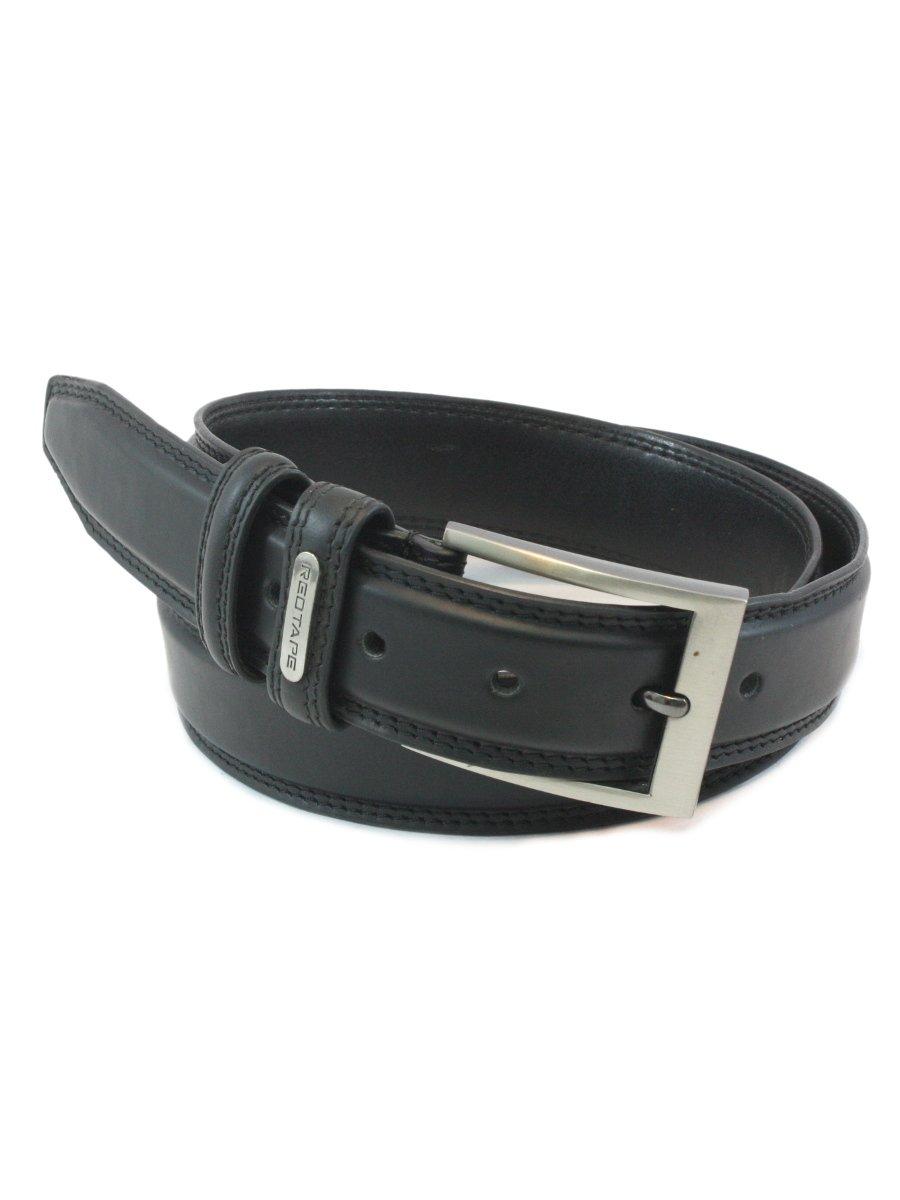 redtape s black leather belt rbl159 black cilory