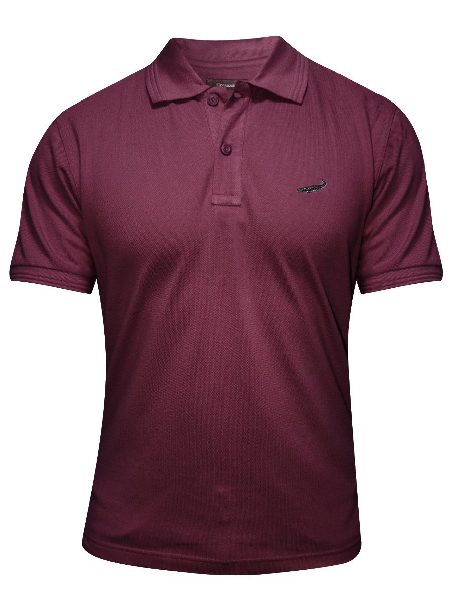 Buy t shirts online crocodile maroon polo t shirt for Polo or t shirt