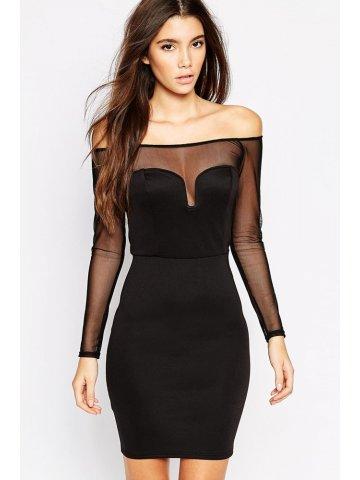 https://static6.cilory.com/177828-thickbox_default/black-off-shoulder-mini-dress.jpg