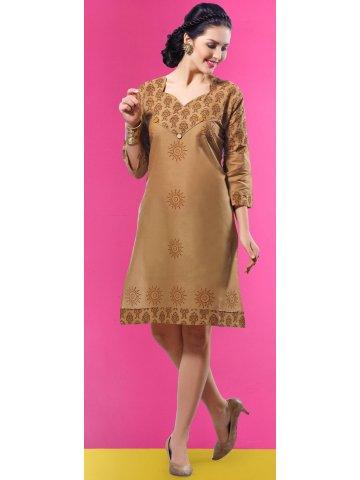https://static1.cilory.com/178095-thickbox_default/royal-golden-brown-cotton-kurti.jpg