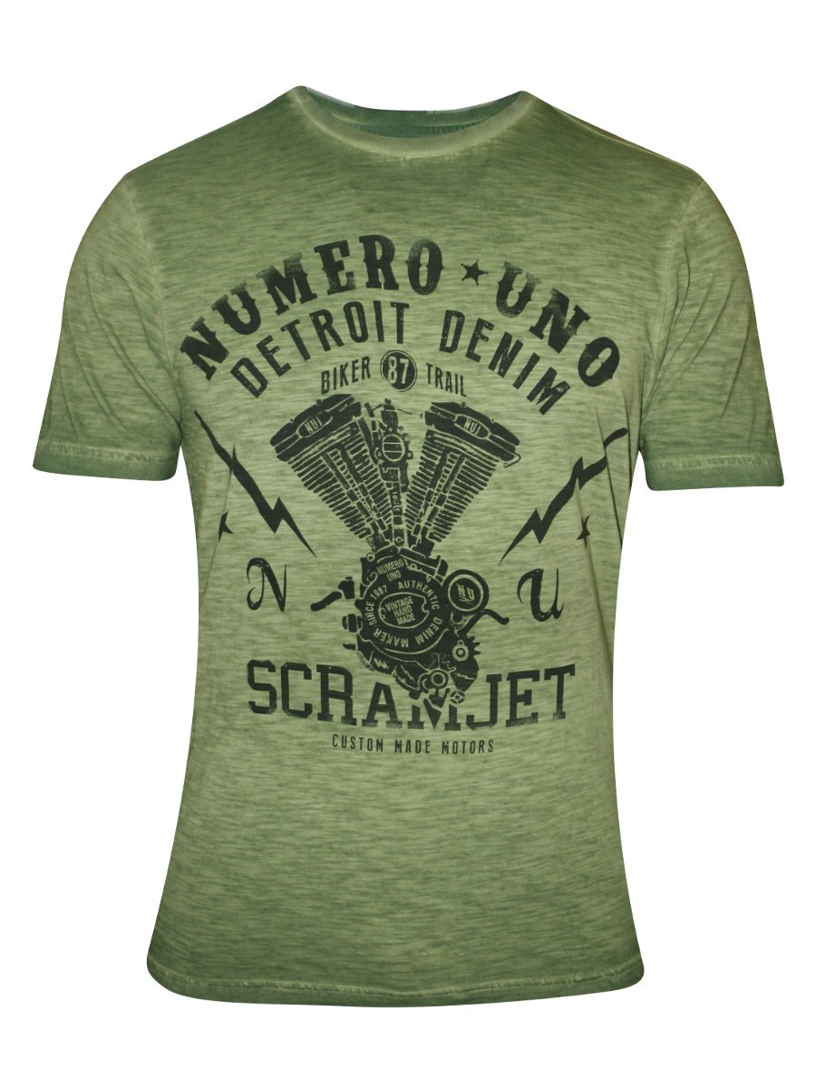 1ca5217ae7  Numero Uno Olive Green Men s T-shirt.  https   static9.cilory.com 179384-thickbox default numero- View full size