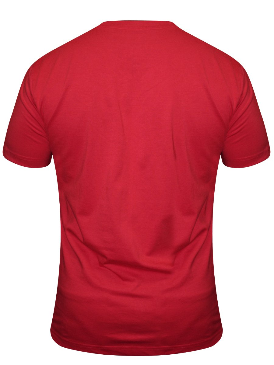 Crocodile Red V Neck T-shirt  13f5ab7bc82b