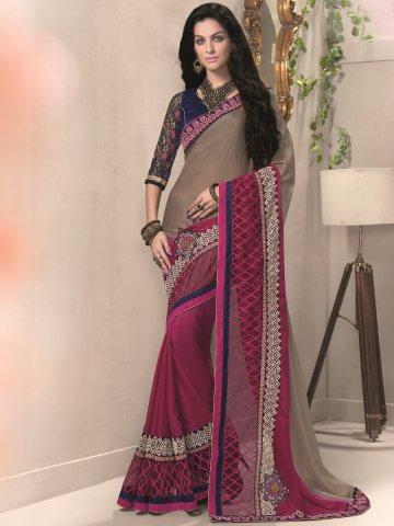 https://static6.cilory.com/188371-thickbox_default/aarya-purple-brown-silk-georgette-saree.jpg