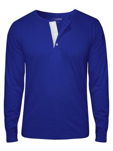 2888e4ba22  NoLogo Royal Blue Full Sleeves Henley T-Shirt.  https   static2.cilory.com 189111-thickbox default no-