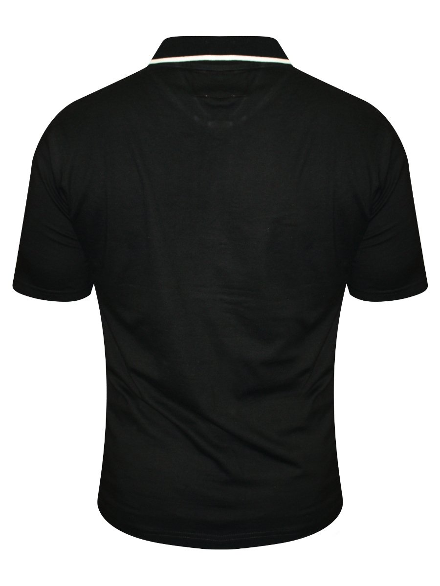 Marion roth black pocket polo t shirt jp 01 black for Polo t shirts with pocket online