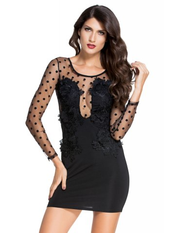 https://d38jde2cfwaolo.cloudfront.net/197430-thickbox_default/black-polka-dot-mesh-splice-bodycon-mini-dress.jpg