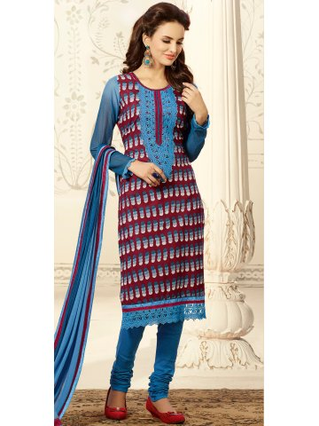https://d38jde2cfwaolo.cloudfront.net/198225-thickbox_default/nitya-red-light-blue-unstitched-printed-suit.jpg