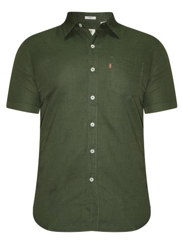 https://static3.cilory.com/203773-thickbox_default/levis-green-casual-linen-half-sleeves-shirt.jpg