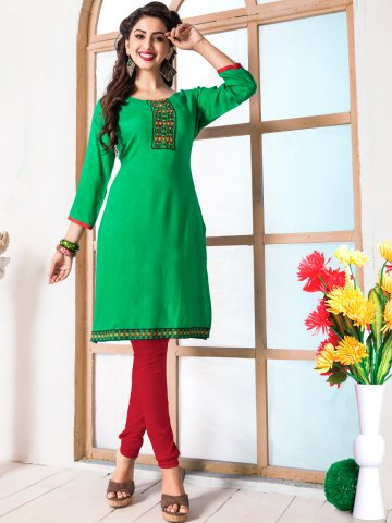 https://static6.cilory.com/206621-thickbox_default/paradise-green-cotton-kurti.jpg
