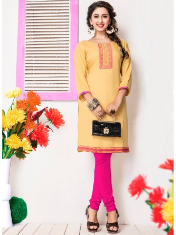 https://static3.cilory.com/206639-thickbox_default/paradise-camel-brown-cotton-kurti.jpg