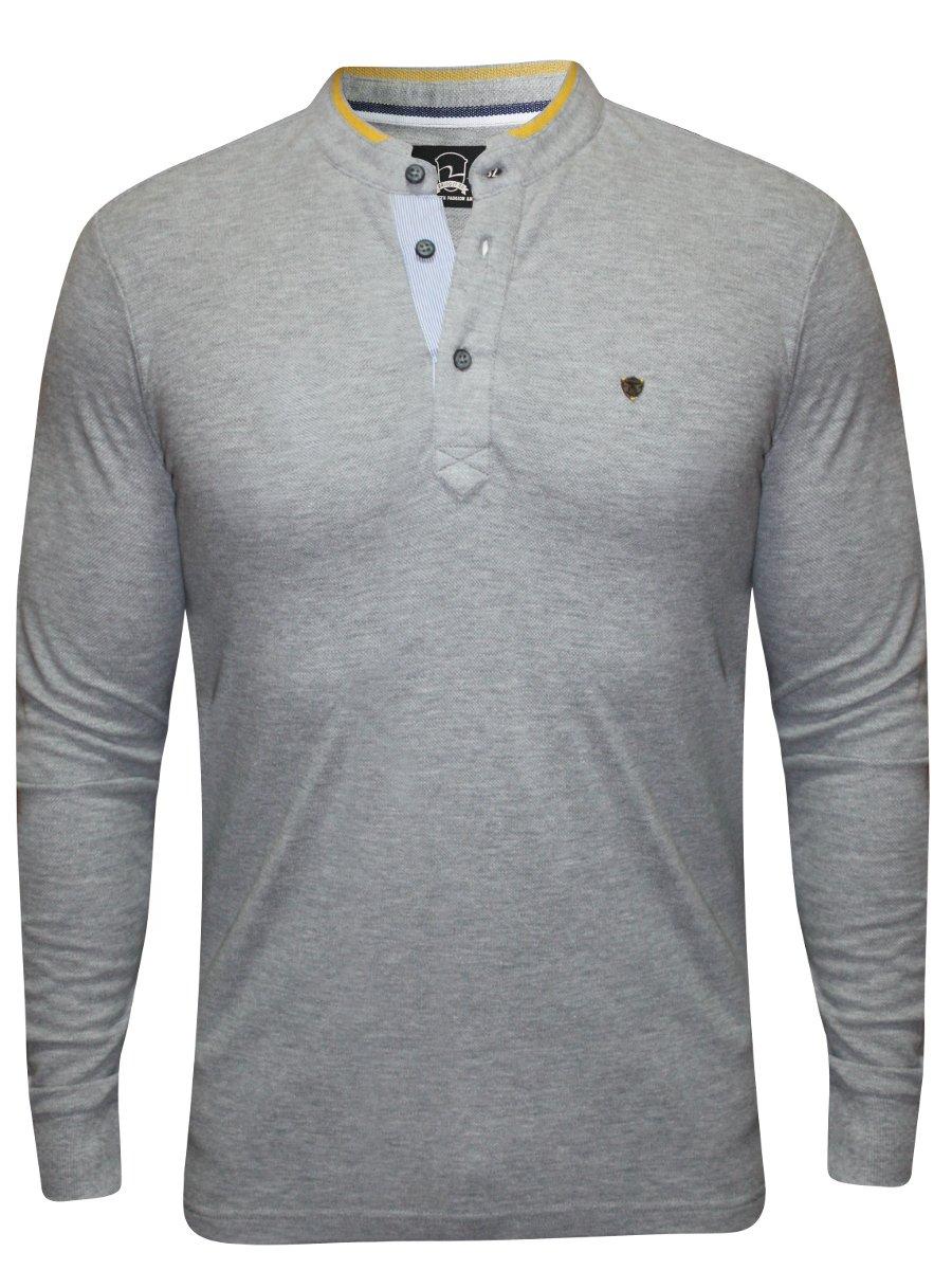 Spykar Grey Full Sleeves T-shirt | Mkt087pof02af-grey | Cilory.com