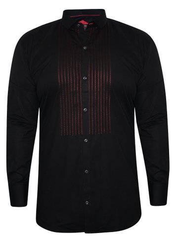 Alpha Male Black Partywear Shirt at cilory