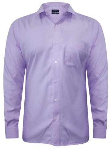 Peter England Lavender Formal Shirt at cilory