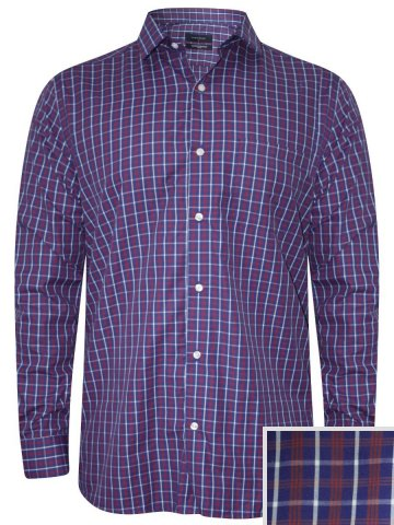 Peter England Blue Formal Shirt at cilory