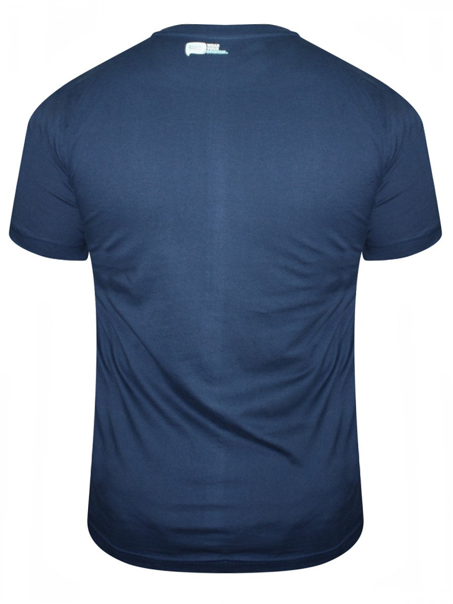 Buy t shirts online om with shiva navy blue t shirt for Navy blue shirt online