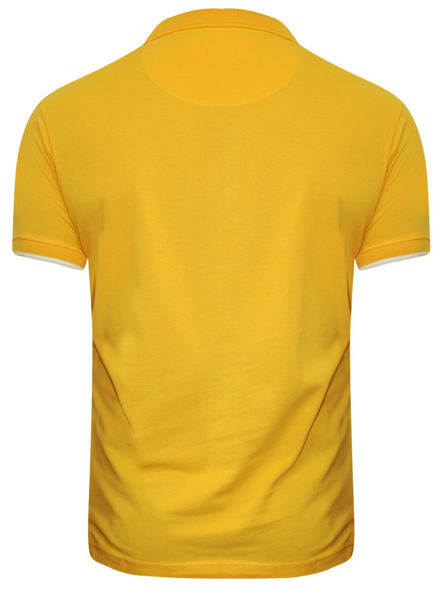 buy t shirts online pepe jeans sunshine yellow polo t. Black Bedroom Furniture Sets. Home Design Ideas