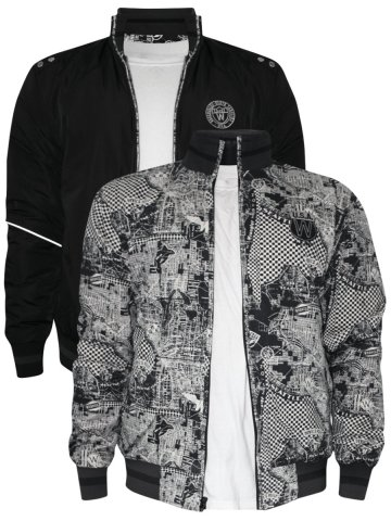 Wrangler Black & White Reversible Jacket at cilory