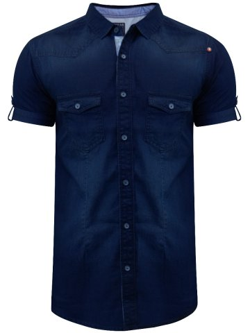 https://static3.cilory.com/249117-thickbox_default/spykar-indigo-blue-casual-shirt.jpg