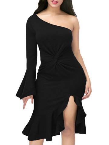 https://static5.cilory.com/284415-thickbox_default/black-twist-and-ruffle-accent-one-shoulder-prom-dress.jpg