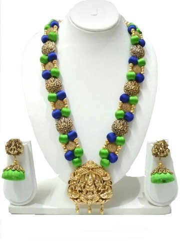 https://static.cilory.com/296261-thickbox_default/ruby-hand-crafted-silk-thread-necklace-set.jpg