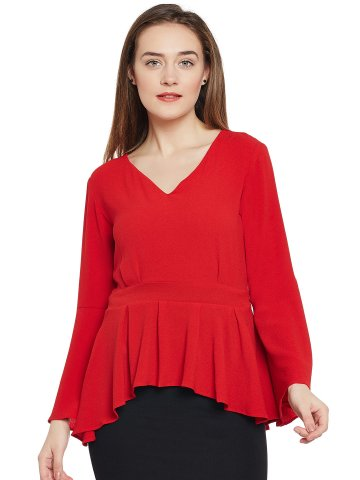 https://static6.cilory.com/309585-thickbox_default/iknow-red-suave-peplum-top.jpg