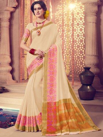 106450190cda17 ... Saree with Golden Print Work.  https   static9.cilory.com 362797-thickbox default vivanta-