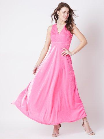 https://d38jde2cfwaolo.cloudfront.net/373098-thickbox_default/estonished-pink-v-neck-velvet-maxi-dress.jpg