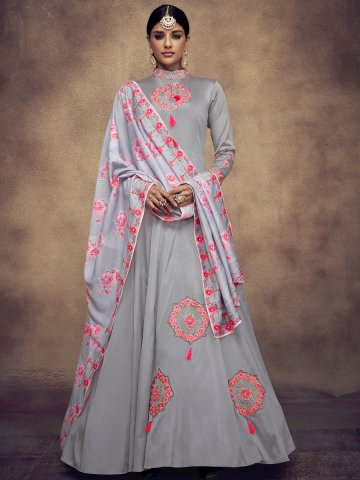 https://static1.cilory.com/377373-thickbox_default/grey-stitched-embroidered-gown-with-printed-dupatta.jpg