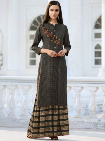 https://d38jde2cfwaolo.cloudfront.net/378268-thickbox_default/dark-grey-embroidered-kurti-with-gharara.jpg