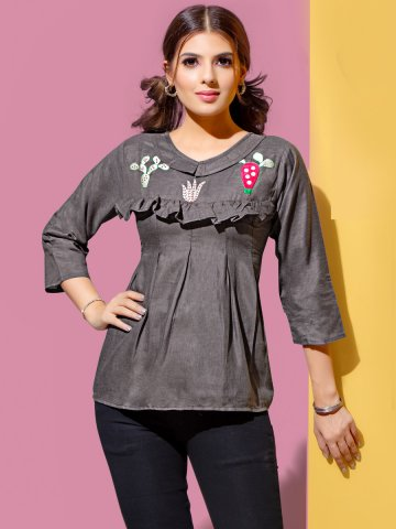 https://static7.cilory.com/397866-thickbox_default/dark-brown-rayon-embroidered-top.jpg