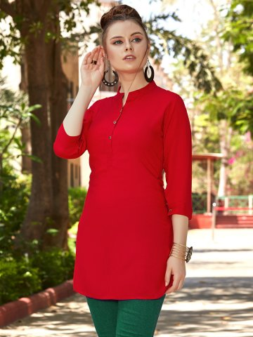 https://static1.cilory.com/398511-thickbox_default/red-rayon-solid-tunic.jpg