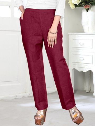 https://static6.cilory.com/402056-thickbox_default/maroon-cotton-linen-pants.jpg