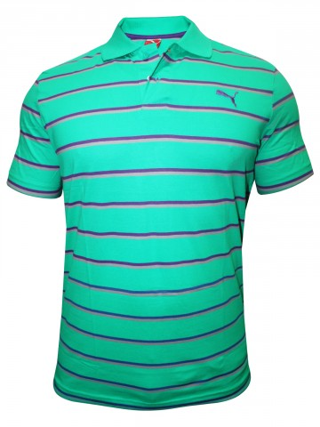 Puma Mid Green Polo T-Shirt at cilory