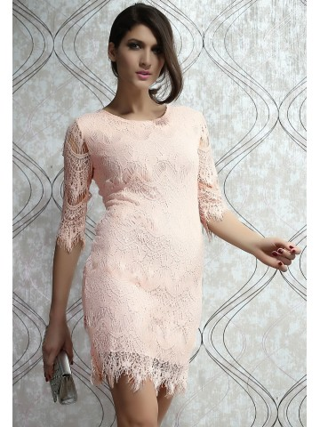 https://static4.cilory.com/67971-thickbox_default/light-peach-allover-lace-three-fourth-sleeves-dress.jpg